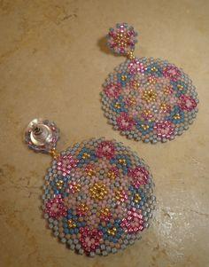 Tutorial earrings Fantasy Technical circular por PatriziaBijoux