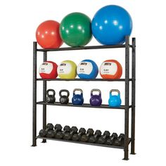 Power Systems 92482 Stability Ball Storage Rack 8 Ball