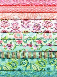 Springs Industries Floral Quilting Panel 100/% Cotton Fabric Fat Quarter