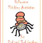 This 19 page Halloween activity packet is designed for the 2nd and 3rd grade class.
