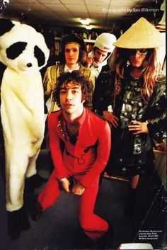 The Strokes play dress-up.