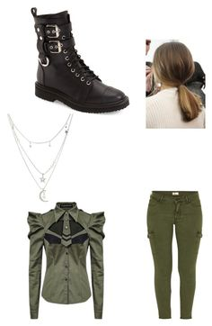 """Millitary McCall #1"" by sara598d ❤ liked on Polyvore featuring Giuseppe Zanotti, Mother and Charlotte Russe"
