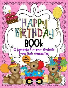 Make your students feel special on their birthday by giving them a keepsake from their classmates!