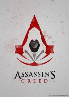 Assassin's Creed minimalist by David Goh