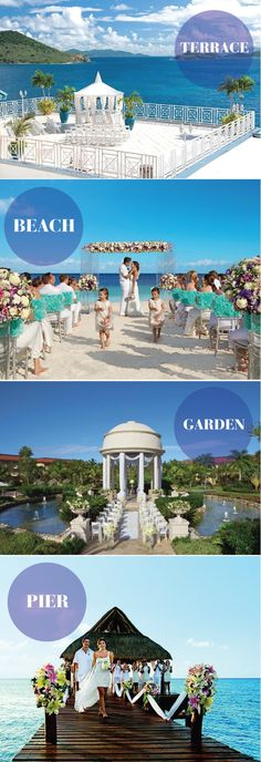 Gorgeous locations for your SEASIDE #WEDDING CEREMONY