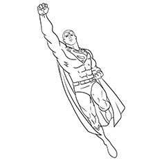Top 30 Free Printable Superman Coloring Pages Online Superman Coloring Pages Coloring Pages Easy Coloring Pages