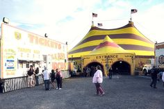 cole_bros_circus_tent_entrance by thorntm, via Flickr