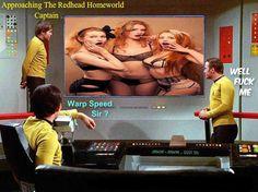 Warp speed! Irish Redhead, Redheads, Feelings, Movies, Movie Posters, Red, Red Heads, Films, Film Poster