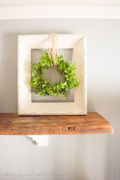 This rustic wood bead garland took only a few minutes to put together and can be used in so many different ways in your home decor.