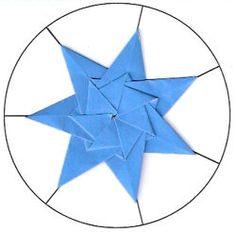 Tea Bag Folding Seven Point Star Instsruction