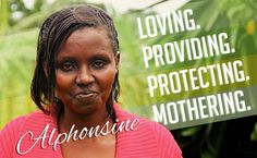 It was her five children who first motivated Alphonsine Kimuzaza