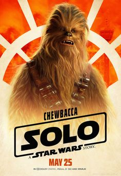 Chewbacca will be one of your favorite characters in SOLO: A Star Wars Story. He's probably already your favorite character in the Star Wars Universe, but Joonas Suotamo will solidify that for you in this film. Who is Joonas Suotamo? Well, he's Chewbacca! Han Solo Film, Star Wars Han Solo, Star Wars Day, Star Trek, Sci Fi Movies, Hd Movies, Movies Online, Fiction Movies, Movie Tv