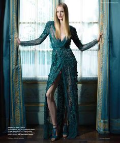 Parisian Palace Photoshoots - The Harper's BAZAAR 'En Mi Castillo' Editorial Stars Maud Welzen (GALLERY)