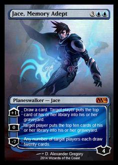 jace, memory adept, full art with edges