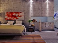We all know Home design is really important to design. That is why you must check our Amazing Home design where it is really great for your start! Feature Wall Design, Feature Wall Bedroom, Bedroom Wall, Bedroom Decor, Feature Walls, Bed Room, Bedroom Headboards, Bedroom Ideas, Master Bedroom