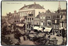 Gedempte Zuiderdiep Groningen 1936
