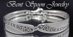 Spoon Bracelet Spoon Jewelry Silverware by Bentspoonjewelry, $22.00