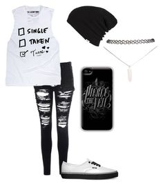 """Single, Taken? Tacos!!!"" by falling-in-the-black-horizon ❤ liked on Polyvore featuring Glamorous, Vans and Wet Seal"