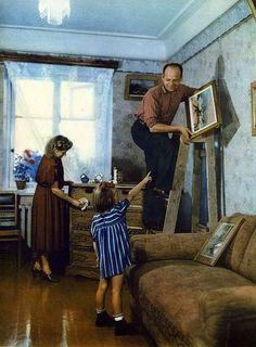 СССР 1953 года в цвете