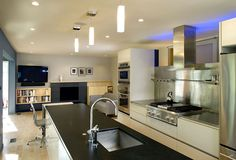 Amazing stainless steel kitchen backsplash -  Turn your regular kitchen into these modern stylish kitchen with stainless steel backsplash!  They come in various types; brushed, patterned, ornamental, tile, harlequin shape, mosaic, mixed metals, etc.