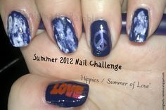 Summer of Love, Hippie Nails: http://enigmatic-rambles.blogspot.co.uk/2012/06/summer-nail-challenge-hippy-love.html