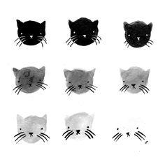 Greyscale Kitties