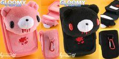 Gloomy Bear Plush Toy iPhone Case!!! WANT!!!