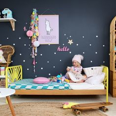 Unicorns Only Digital Print - Kids interior design, decor and DIY