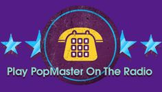 PopMaster on bbc radio Bbc Radio, About Uk, Pop, Popular, Pop Music