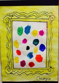 Dots like Vashti Did Soul Sisters, Art Education, Dots, Frame, Blog, Decor, Decoration, Decorating, Art Education Resources