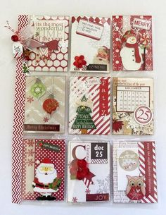 Image result for Fill all of the Letter pockets with Christmas related items.