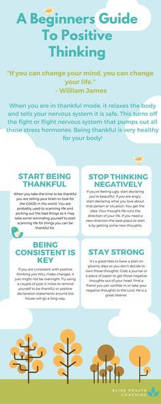 How you think greatly impacts your health. Learn how to think positive and get your healthy body back.
