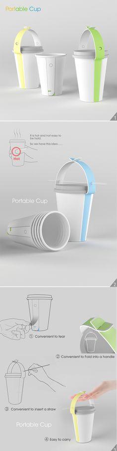 2012年红点概念奖——便携纸杯