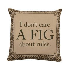 Heritage Lace Downton Life A Fig Decorative Throw Pillow - DL1818SI-0906