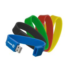 Promotioinal Sportie Usb 20 Flash Drive Silicone Bracelet