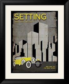 Setting (Great Gatsby) - Element of a Novel Sztuka autor Christopher Rice w AllPosters.pl