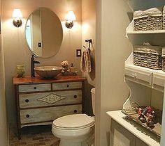 Easy DIY Home Decor Crafts: Bathroom Renovation