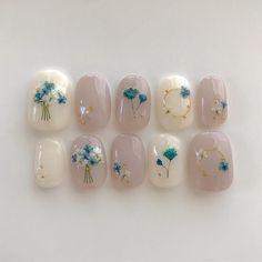 Wedding Nails-A Guide To The Perfect Manicure – NaiLovely Pink Gel Nails, Cute Acrylic Nails, Cute Nails, Bride Nails, Wedding Nails, Korean Nail Art, Gel Nagel Design, Kawaii Nails, Japanese Nail Art