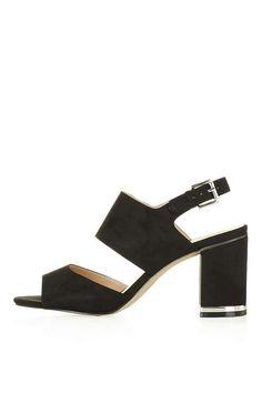MEGHAN Block Heel Sandals