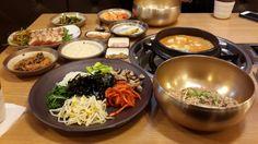 청국장과보리밥 맛나다.^&^