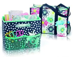 Thirty-One Fold-n-File and Zip-Top Organizing Utility Tote www.mythirtyone.com/apeterson86