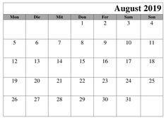 Kalender Blatt August 2019 Zum Ausdrucken Kalender August, Computer Keyboard, Planer, Words, Computer Keypad, Keyboard, Horse