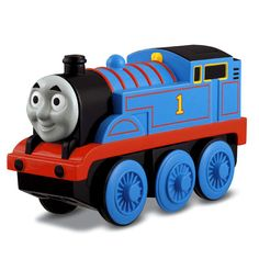 Fisher-Price Thomas the Train Wooden Railway Battery-Operated Thomas The Tank Engine for Johnny Thomas The Train Toys, Thomas The Tank, Thomas Toys, All Toys, Toys R Us, Thomas Engine, Fisher Price Toys, Mattel, Wooden Train