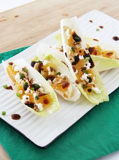 If you are looking for an easy, elegant and healthy appetizer for a holiday meal or a party, I've got a recipe for you! Crisp belgian endive filled with creamy goat cheese, crunchy honey-toas…