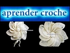 Flor de crochê - YouTube