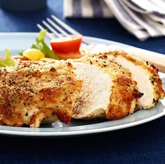 Hellmann's(R) Parmesan Crusted Chicken - Discover how juicy chicken can be with this Hellmann's(R) favorite.