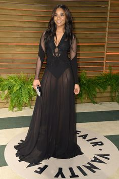Actress Regina Hall attends the 2014 Vanity Fair Oscar Party hosted by Graydon Carter on March 2, 2014 in West Hollywood, California.