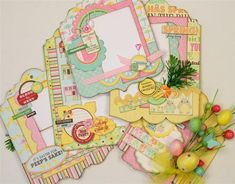 This mini album is designed with the new Southern Chicken Dumpling Soup from Jillibean Soup