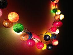 20 Bulbs Carnival Night Light cotton ball
