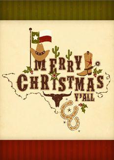 Merry Christmas Texas Style
